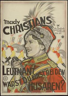 <i>Lieutenant, Were You Once a Hussar?</i> 1930 film