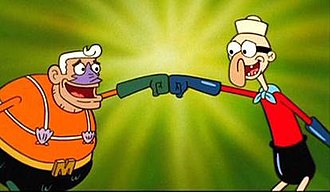 Mermaid Man and Barnacle Boy - Image: Mermaid Man and Barnacle Boy