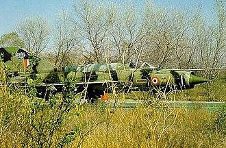No. 3 Squadron IAF - A Mig 21bis of the No. 3 Sqn at Pathankot AB. The Cobra ensignia can be seen fairly visibly.