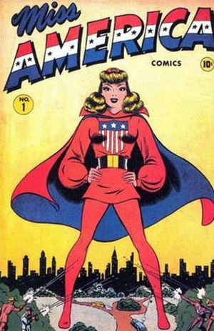 Miss America (Madeline Joyce) - Image: Miss America Comics n 1 1944