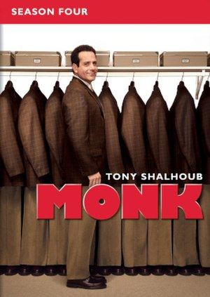 Monk (season 4) - Image: Monk Season Four DVD