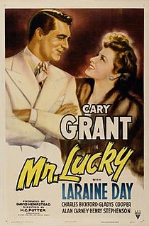 <i>Mr. Lucky</i> (film) 1943 film by H. C. Potter