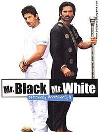 Mr White Mr Black (2008) Full Screen - Sunil Shetty, Arshad Warsi, Sandhya Mridul, Upasna Singh, Vra