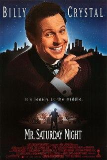 <i>Mr. Saturday Night</i> 1992 film by Billy Crystal