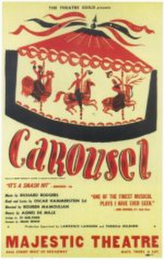 Carousel (musical) - Original Broadway poster (1945)