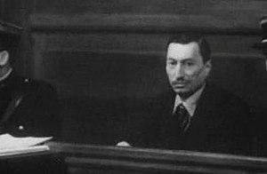 Bernard Natan - Bernard Natan on trial (filmed against his wishes)