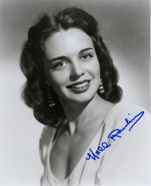 Nell Rankin - An autographed photo of Nell Rankin.