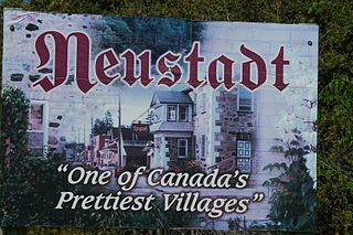 Neustadt, Ontario Unincorporated community in Ontario, Canada