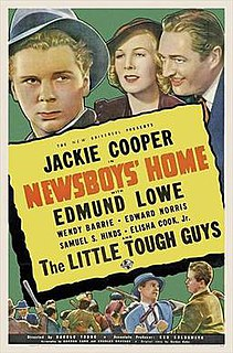 <i>Newsboys Home</i> 1938 film by Harold Young