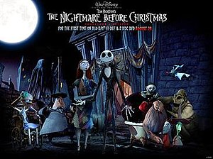 The main characters in The Nightmare Before Ch...