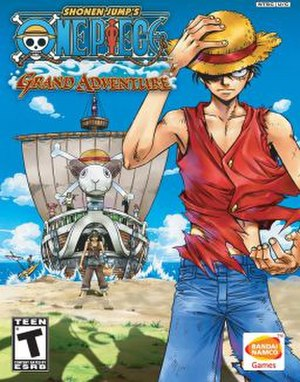One Piece: Grand Adventure - North American cover art