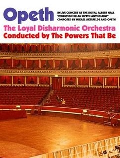 <i>In Live Concert at the Royal Albert Hall</i> 2010 live album / Video by Opeth