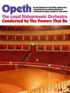 In Live Concert at the Royal Albert Hall - Image: Opeth In Live Concert at the Royal Albert Hall CD DVD cover