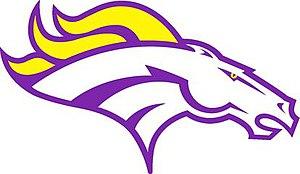 Orangeville High School - Image: Orangeville Broncos logo