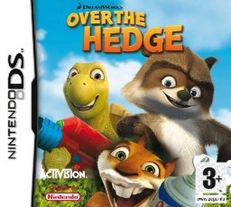 Over the Hedge (DS game) - PAL region cover art