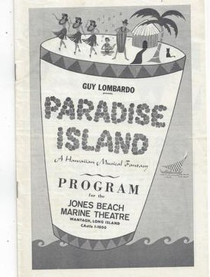 Paradise Island (musical) - Program Cover