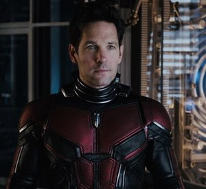 Ant-Man (Scott Lang) - Paul Rudd as Scott Lang / Ant-Man in the 2015 film Ant-Man.