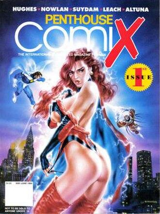 Penthouse Comix - Image: Penthouse Comix 1Cover
