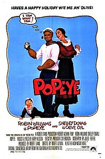 <i>Popeye</i> (film) 1980 film by Robert Altman