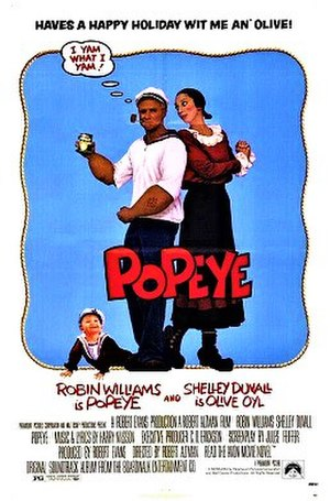 Popeye (film) - Theatrical release poster