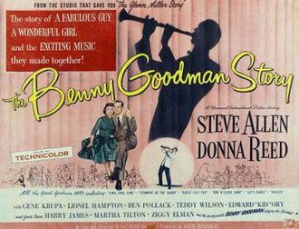 The Benny Goodman Story - Image: Poster of the movie The Benny Goodman Story