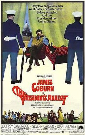 The President's Analyst - Original theatrical film poster