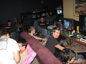 LAN party - Console Based Private LAN Party