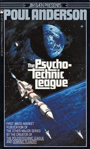 The Psychotechnic League - The 1981 Tor Books edition of The Psychotechnic League.