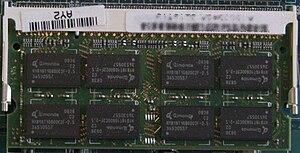 Qimonda - A Qimonda 2 GB DDR2-800 SODIMM Module