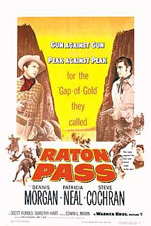 <i>Raton Pass</i> (film) 1951 film by Edwin L. Marin