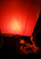 Releasing lanterns at the Yansheui Beehive Festival.png