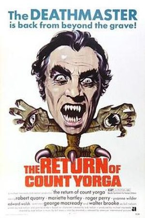 The Return of Count Yorga - Theatrical release poster