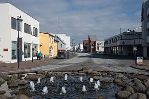 Reykjanesbær - Keflavik town center