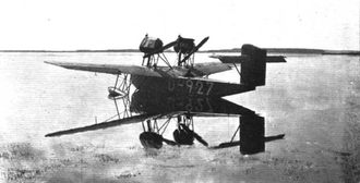 Rohrbach Ro VII Robbe - Robbie I at the seaplane trials in the Warnemünde