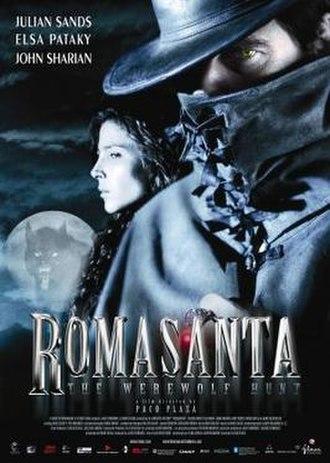 Romasanta - Theatrical release poster