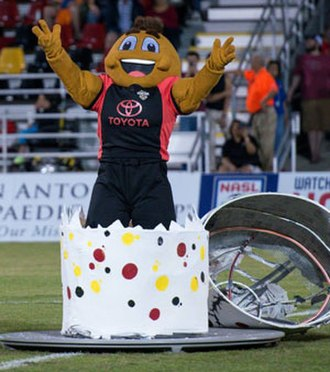 San Antonio Scorpions - Sting is unveiled to fans and supporters