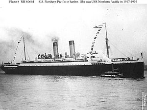 SS Northern Pacific (1914) - SS Northern Pacific