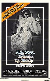 <i>Sheba, Baby</i> 1975 blaxploitation action film directed by William Girdler