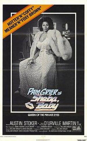 Sheba, Baby - Original film poster.