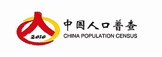 Sixth National Population Census of the People's Republic of China - Image: Sixth China Population Census logo