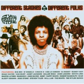 Different Strokes by Different Folks - Image: Sly And The Family Stone Different Strokes By Different Folks Epic Version CD Album Cover