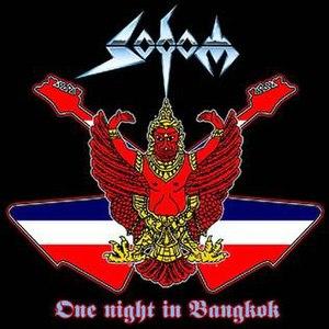 One Night in Bangkok (album) - Image: Sodom live in bangkok