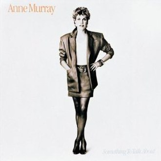 Something to Talk About (album) - Image: Something to Talk About (Anne Murray) album coverart