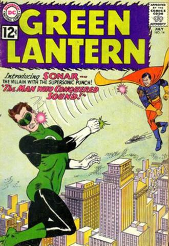 Sonar (comics) - Introducing Sonar, artist Gil Kane