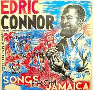 Edric Connor - Argo Records sleeve design by Olga Lehmann