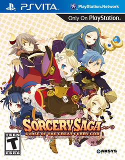 Sorcery Saga Curse of the Great Curry God boxart.png