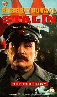 <i>Stalin</i> (1992 film) 1992 television film directed by Ivan Passer
