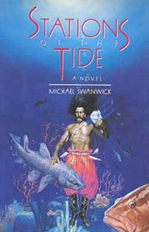 Stations of the Tide - Cover of first edition (hardcover)