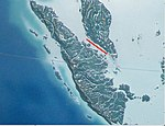 Strait of Malacca, narrows, marked in red
