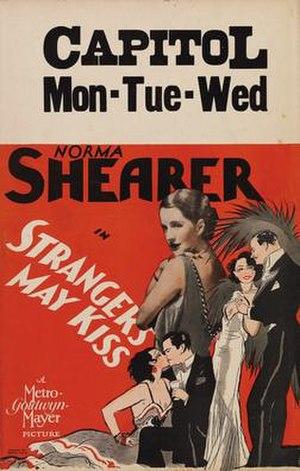 Strangers May Kiss - Image: Strangers May Kiss, 1931